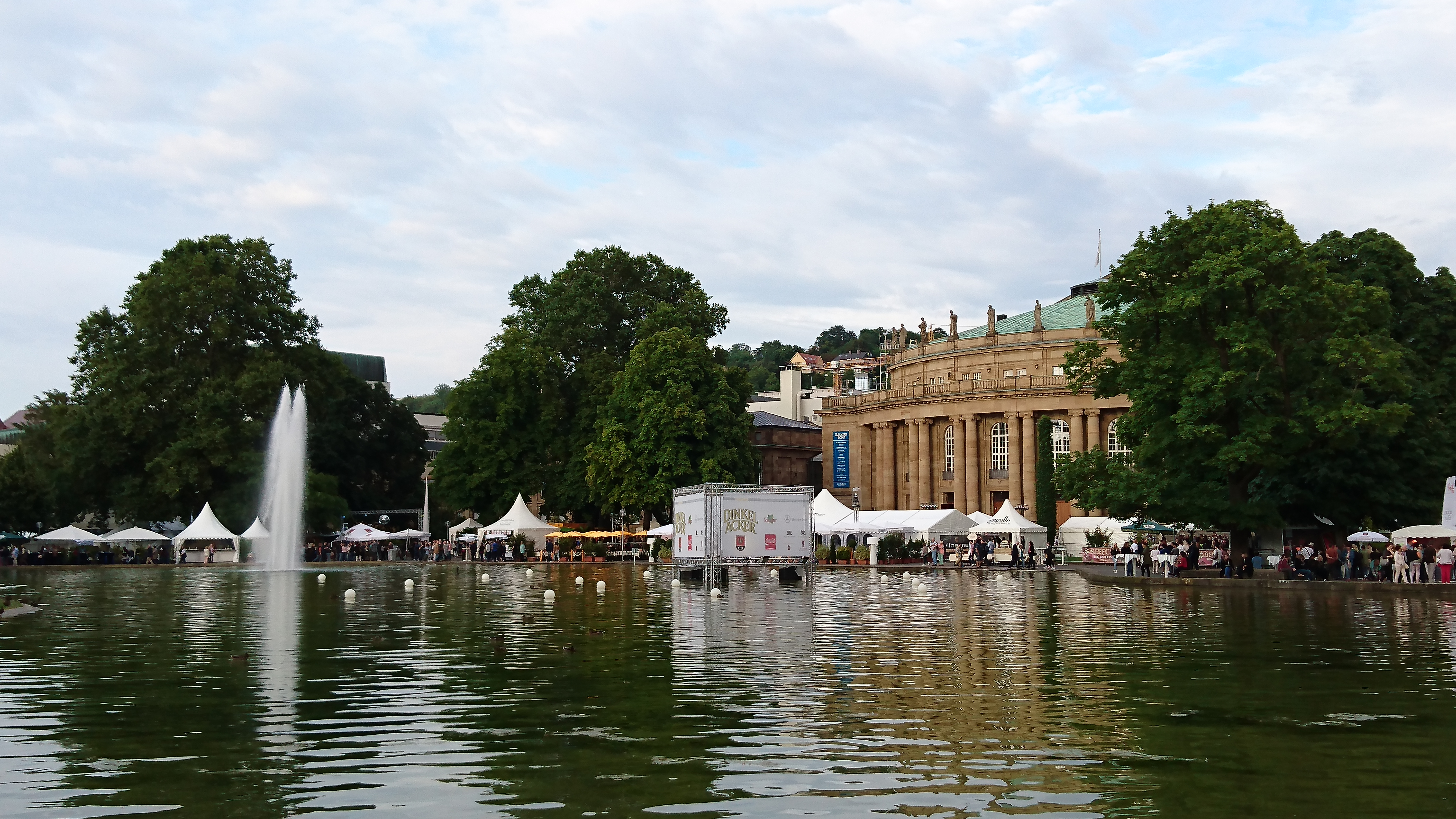 Stuttgarter Sommer Events Feste Frühling