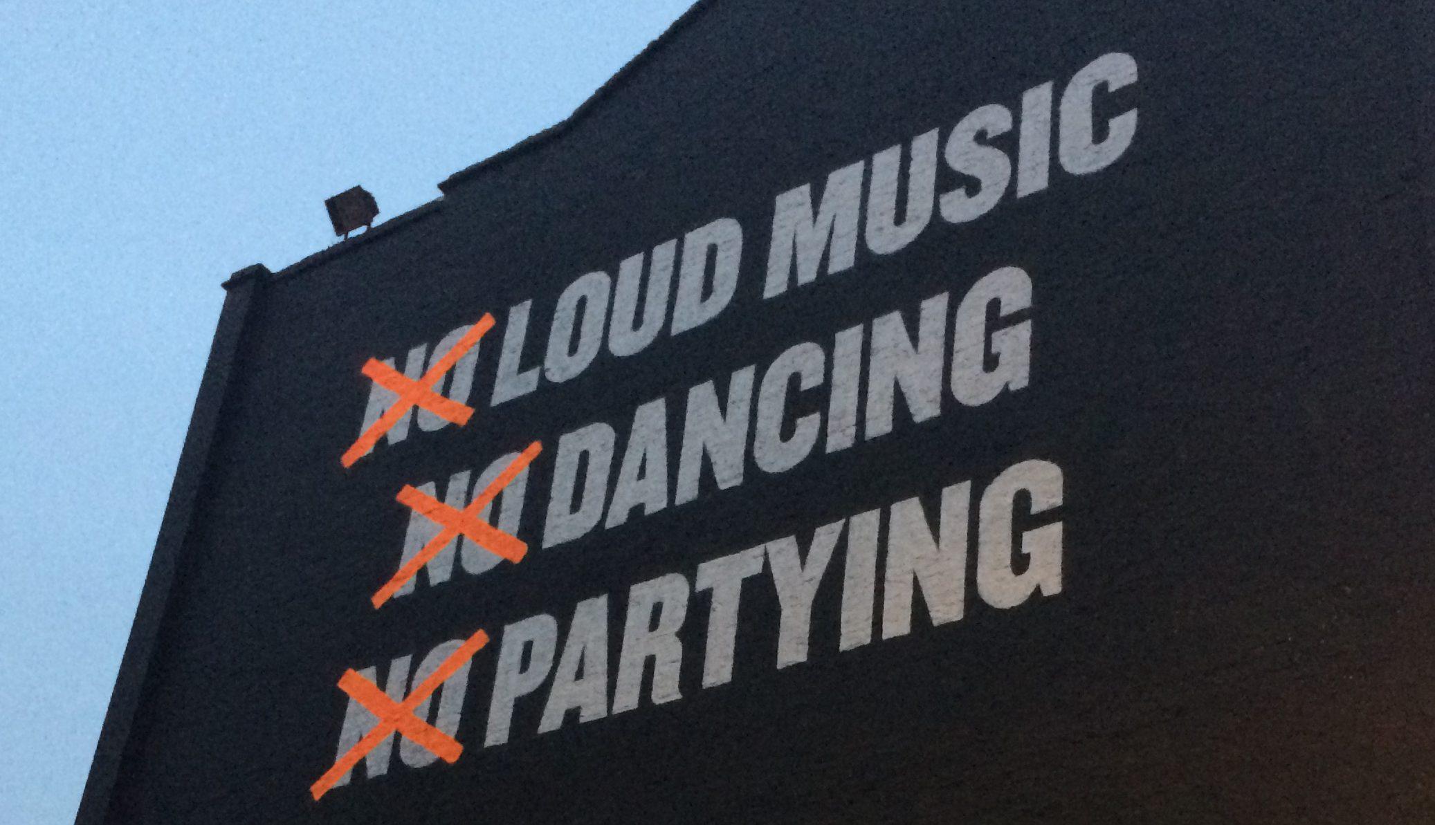 Loud Music Dancing Partying in London