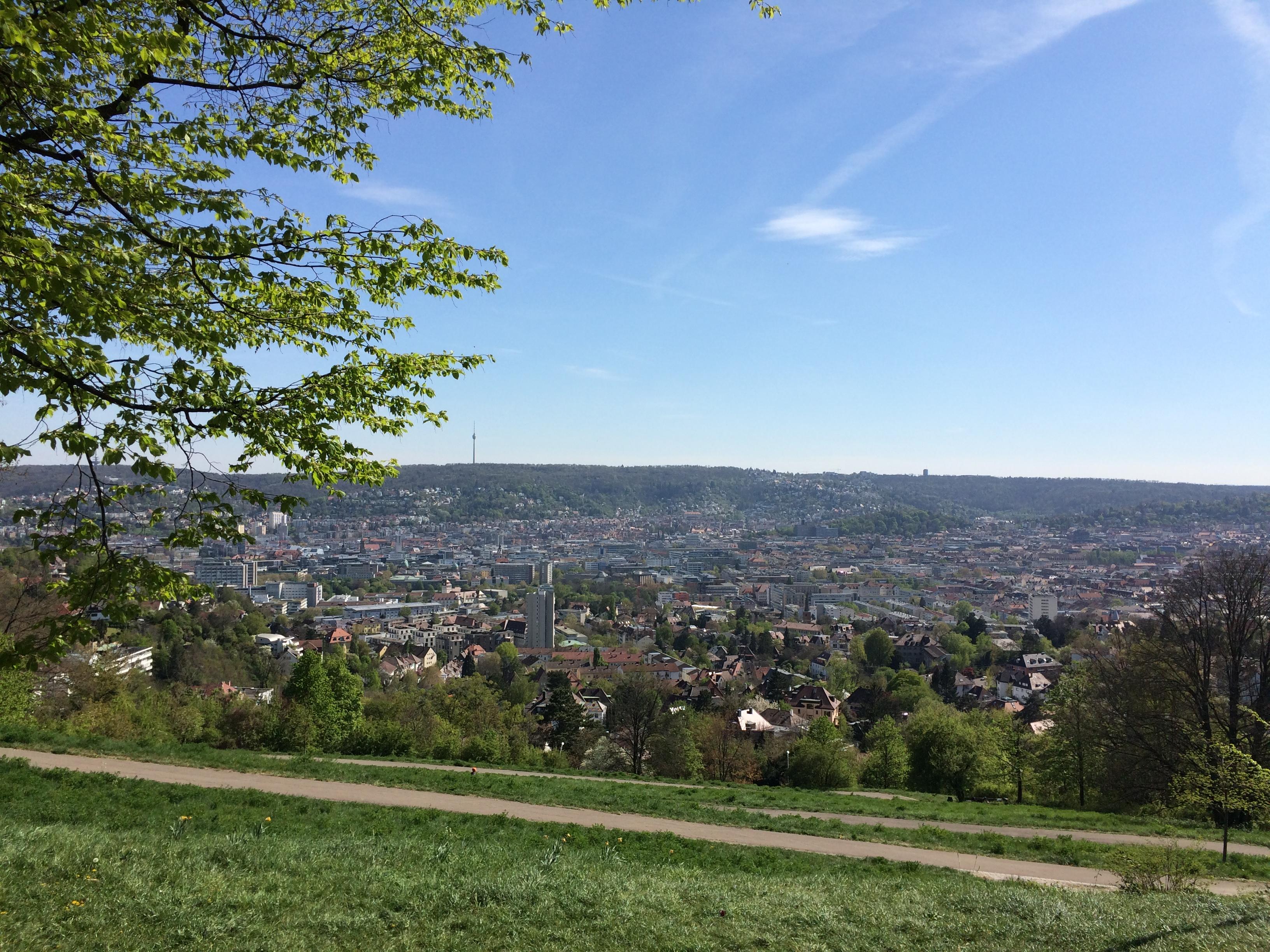 Stuttgart Aussichtspunkte Bismarckturm