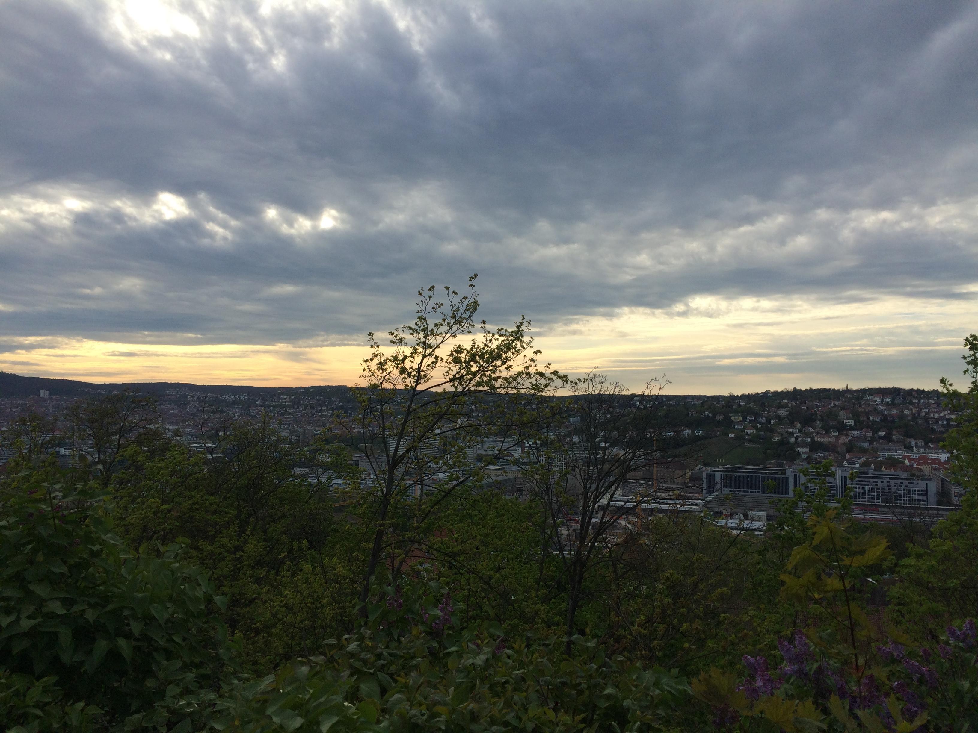 Stuttgart Aussichtspunkte Uhlandshöhe