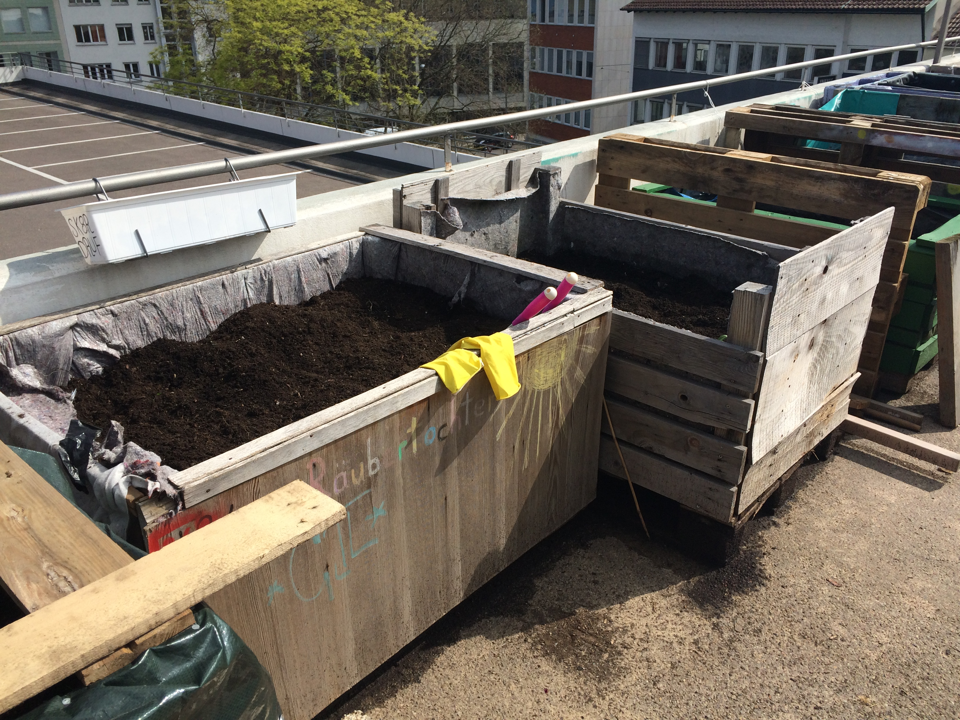Urban Gardening Stuttgart Züblin Ebene 0
